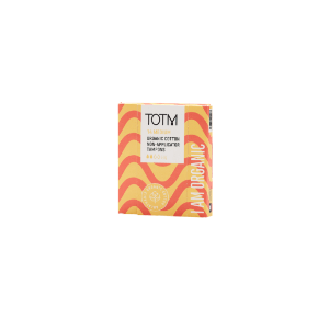 medium flow non applicator organic cotton tampons