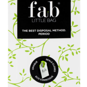 fab little bag eco friendly disposable sanitary bag