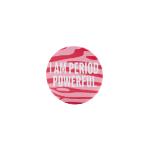 TOTM Period Powerful Pink Patterned Cosmetic Mirror