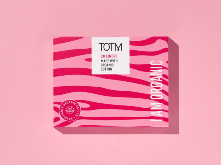TOTM organic cotton unwrapped liners