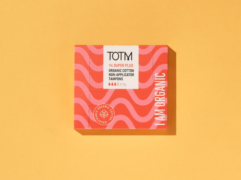 TOTM Super Plus Non App Tampons Box