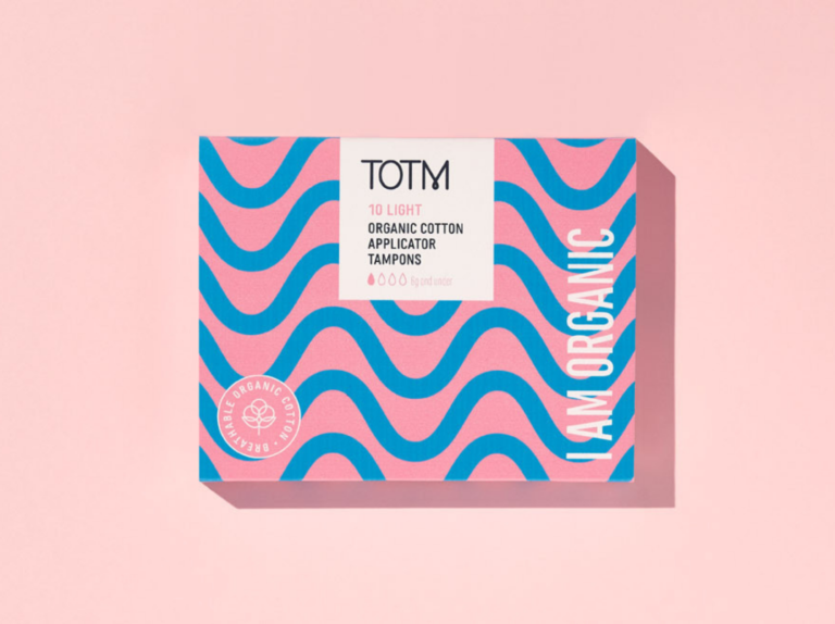 TOTM Light App Tampons Box