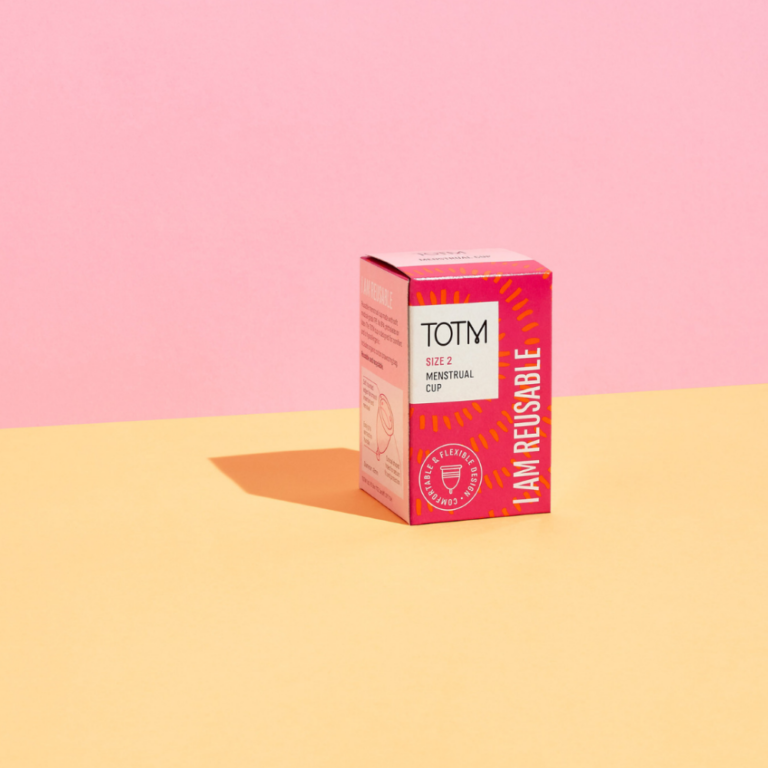 TOTM menstrual cup