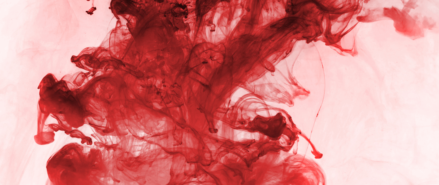 Red blood menstruation