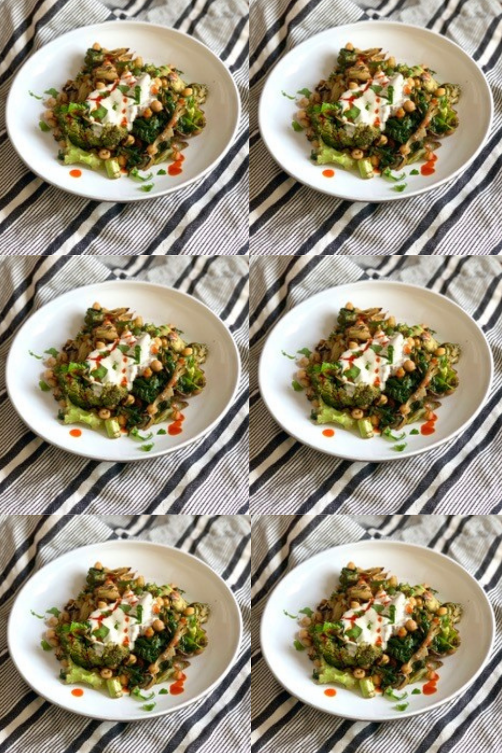 Hormone-friendly recipe: Middle Eastern Chickpeas, Broccoli and Spinach